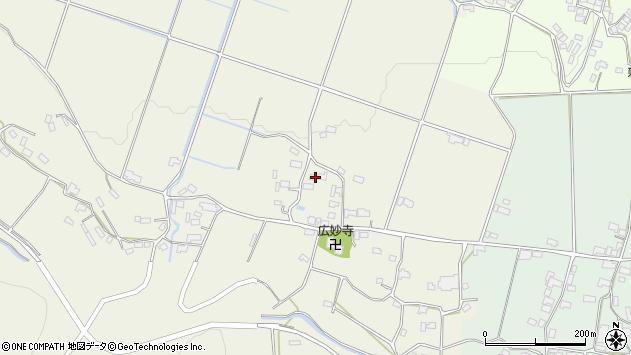 大分県玖珠郡玖珠町山田698周辺の地図
