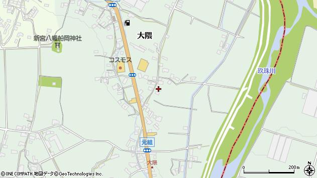 大分県玖珠郡玖珠町大隈965周辺の地図