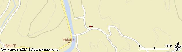 大分県玖珠郡九重町松木4415周辺の地図