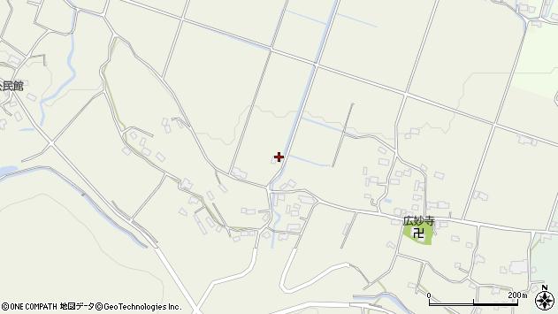 大分県玖珠郡玖珠町山田739周辺の地図