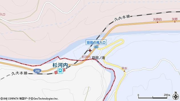 大分県玖珠郡玖珠町山浦861周辺の地図