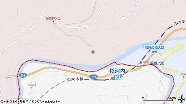 大分県玖珠郡玖珠町戸畑8749周辺の地図
