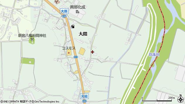 大分県玖珠郡玖珠町大隈963周辺の地図