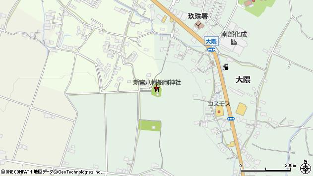 大分県玖珠郡玖珠町塚脇981周辺の地図