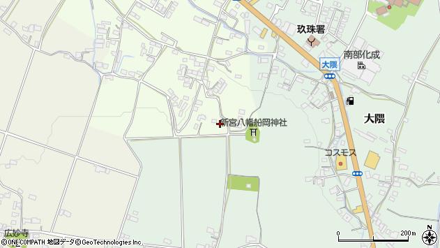大分県玖珠郡玖珠町塚脇801周辺の地図