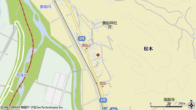 大分県玖珠郡九重町松木464周辺の地図