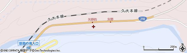 大分県玖珠郡玖珠町戸畑8018周辺の地図