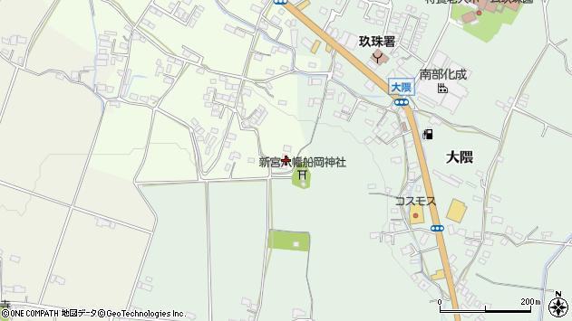 大分県玖珠郡玖珠町塚脇799周辺の地図