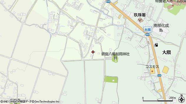 大分県玖珠郡玖珠町塚脇810周辺の地図