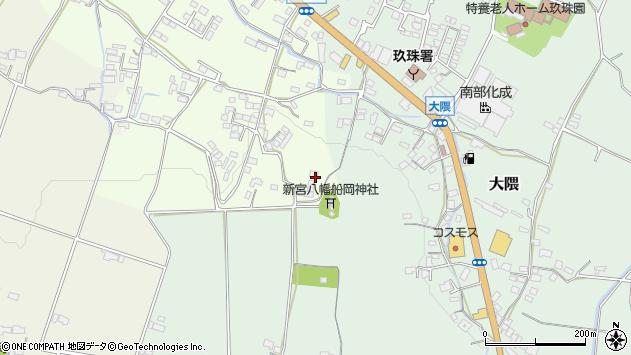 大分県玖珠郡玖珠町塚脇795周辺の地図