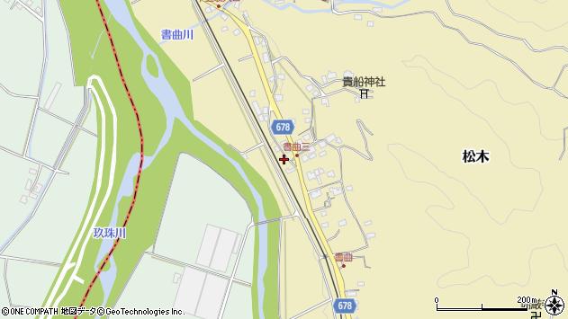 大分県玖珠郡九重町松木38周辺の地図