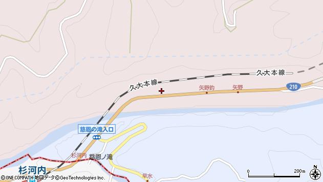 大分県玖珠郡玖珠町戸畑8558周辺の地図