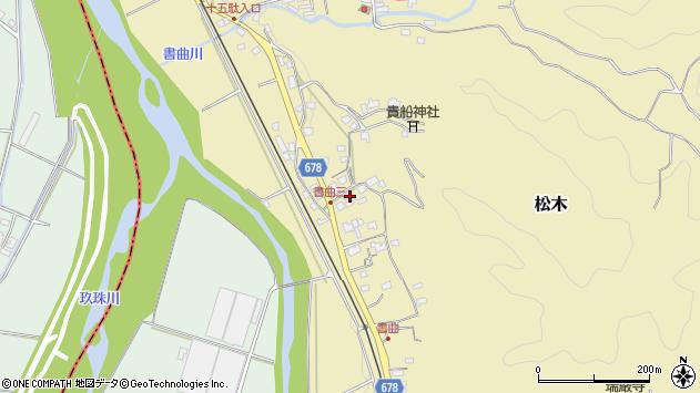 大分県玖珠郡九重町松木456周辺の地図
