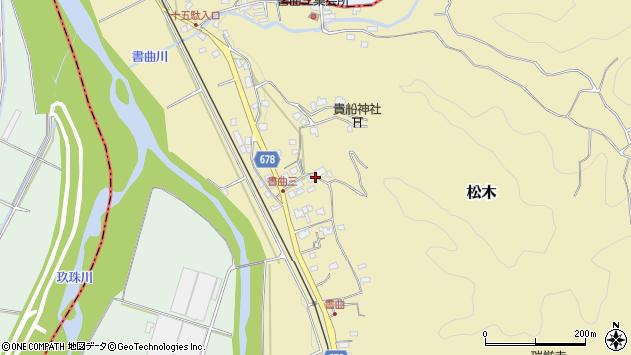 大分県玖珠郡九重町松木453周辺の地図