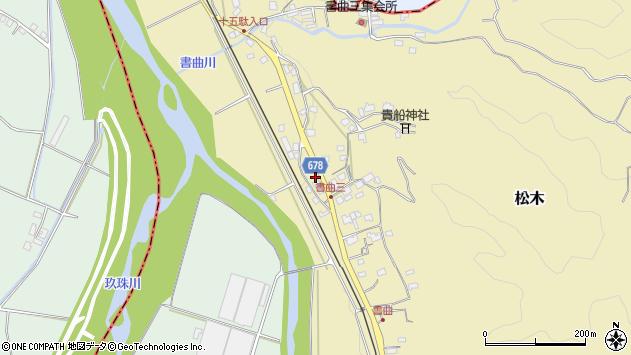 大分県玖珠郡九重町松木513周辺の地図
