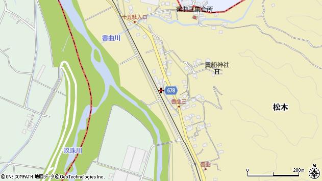 大分県玖珠郡九重町松木59周辺の地図