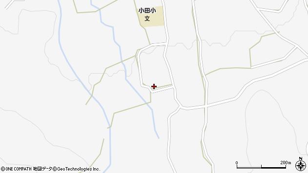 大分県玖珠郡玖珠町小田1070周辺の地図