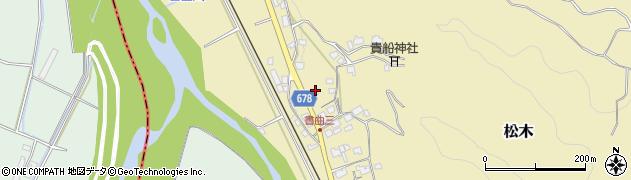 大分県玖珠郡九重町松木65周辺の地図