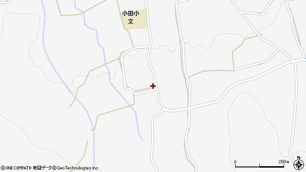 大分県玖珠郡玖珠町小田1094周辺の地図