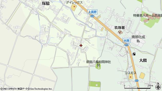 大分県玖珠郡玖珠町塚脇820周辺の地図