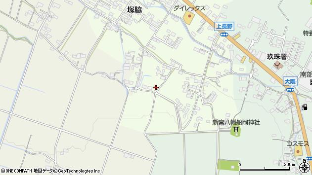 大分県玖珠郡玖珠町塚脇849周辺の地図