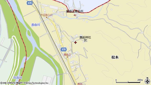 大分県玖珠郡九重町松木195周辺の地図
