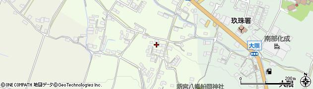 大分県玖珠郡玖珠町塚脇833周辺の地図