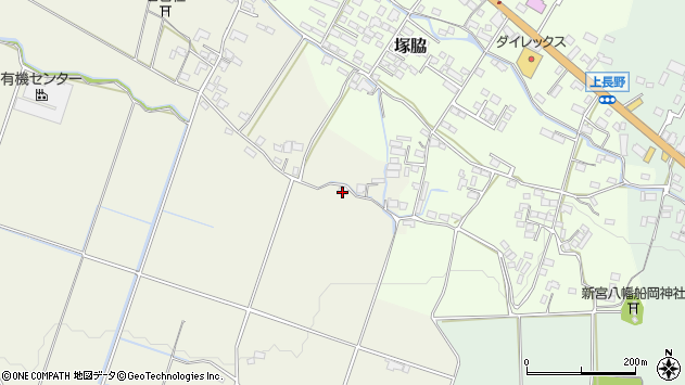 大分県玖珠郡玖珠町山田603周辺の地図
