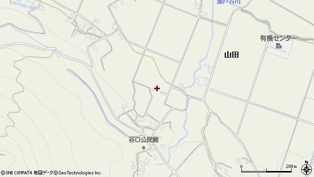 大分県玖珠郡玖珠町山田1844周辺の地図