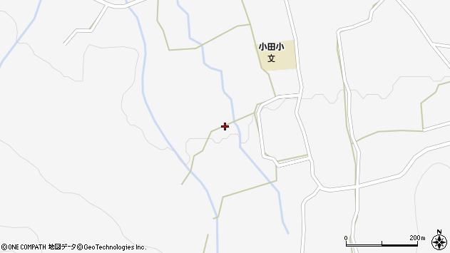 大分県玖珠郡玖珠町小田1581周辺の地図