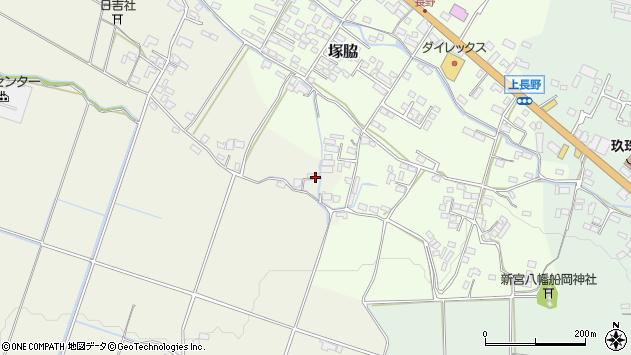 大分県玖珠郡玖珠町山田585周辺の地図