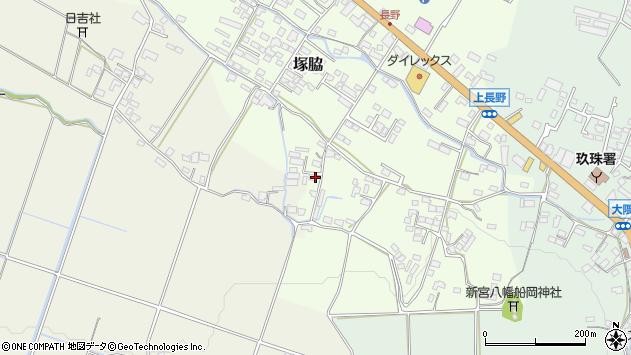 大分県玖珠郡玖珠町塚脇880周辺の地図