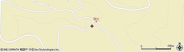 大分県玖珠郡九重町松木3441周辺の地図