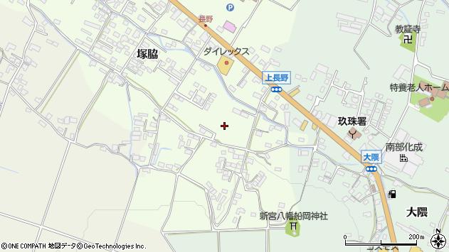 大分県玖珠郡玖珠町塚脇長野上周辺の地図