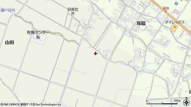 大分県玖珠郡玖珠町山田779周辺の地図