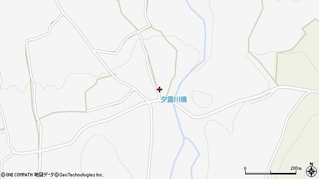 大分県玖珠郡玖珠町小田215周辺の地図