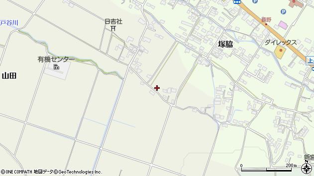 大分県玖珠郡玖珠町山田554周辺の地図