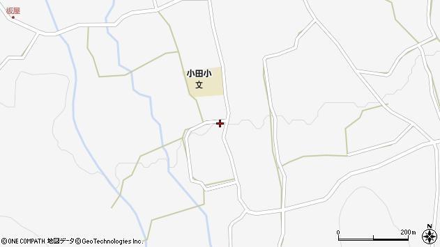大分県玖珠郡玖珠町小田1057周辺の地図