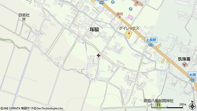 大分県玖珠郡玖珠町塚脇879周辺の地図