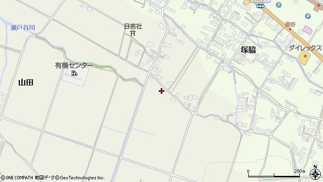 大分県玖珠郡玖珠町山田789周辺の地図
