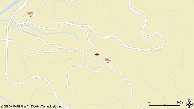 大分県玖珠郡九重町松木3477周辺の地図