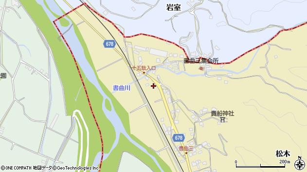 大分県玖珠郡九重町松木94周辺の地図