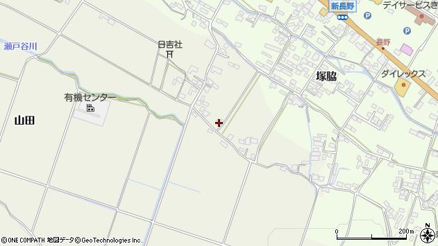 大分県玖珠郡玖珠町山田552周辺の地図