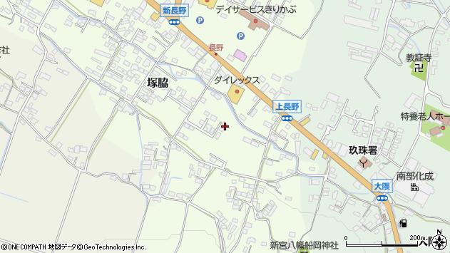 大分県玖珠郡玖珠町塚脇485周辺の地図
