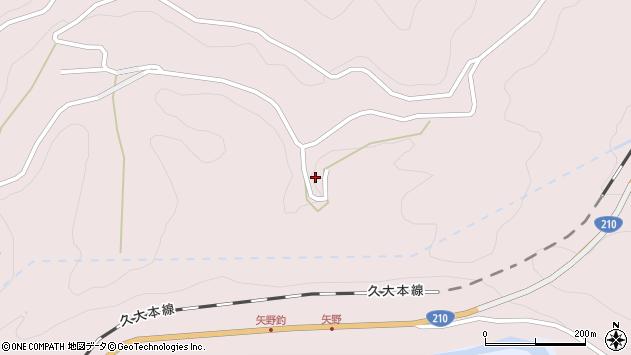 大分県玖珠郡玖珠町戸畑8165周辺の地図