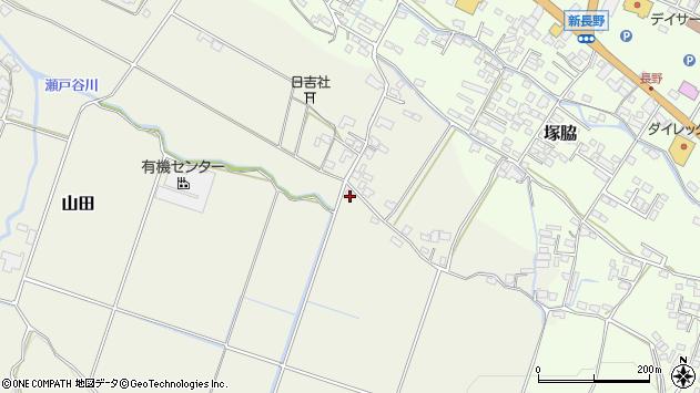 大分県玖珠郡玖珠町山田822周辺の地図