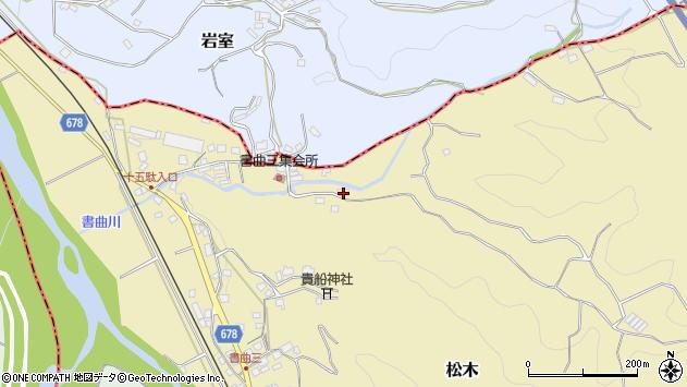 大分県玖珠郡九重町松木168周辺の地図