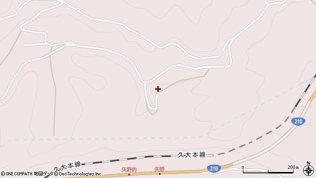 大分県玖珠郡玖珠町戸畑8155周辺の地図