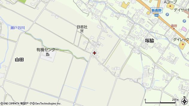 大分県玖珠郡玖珠町山田547周辺の地図