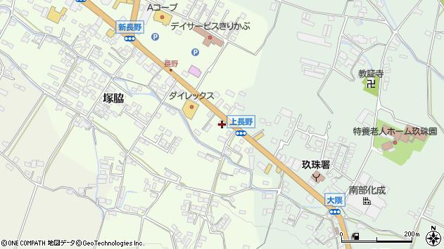 大分県玖珠郡玖珠町塚脇817周辺の地図